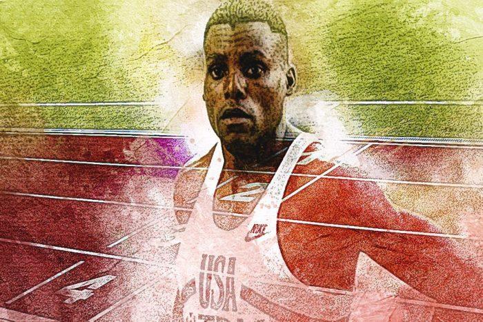 Carl Lewis Олимпийские игры в Токио
