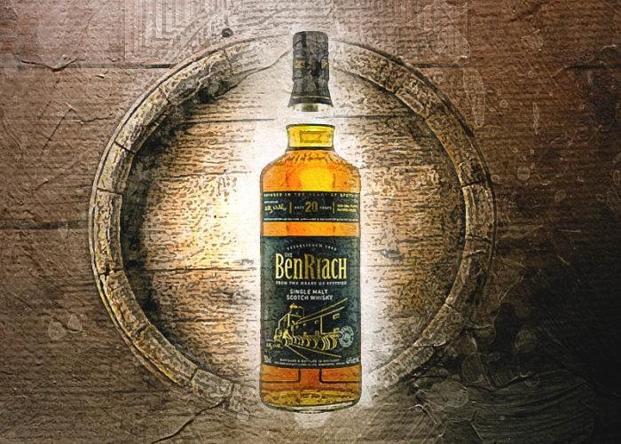 benriach 20 лет виски