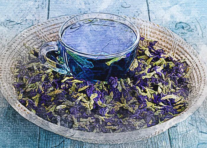 цветки чая