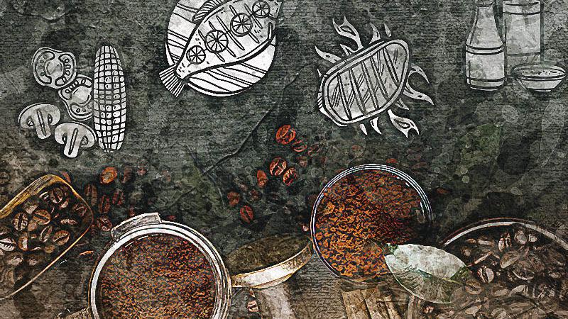 9 способов готовить с кофе