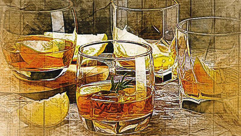 Домашний бар: Стаканы для виски